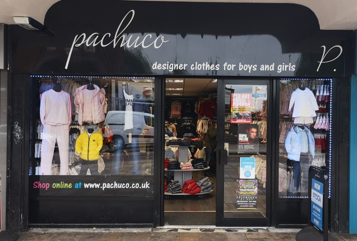 2987d9a67 Keep up to date with the clothing in stock on the Pachuco Twitter  (@pachucoUK) or by liking the Pachuco Facebook page. Visit Pachuco at 38  Brandon Parade ...