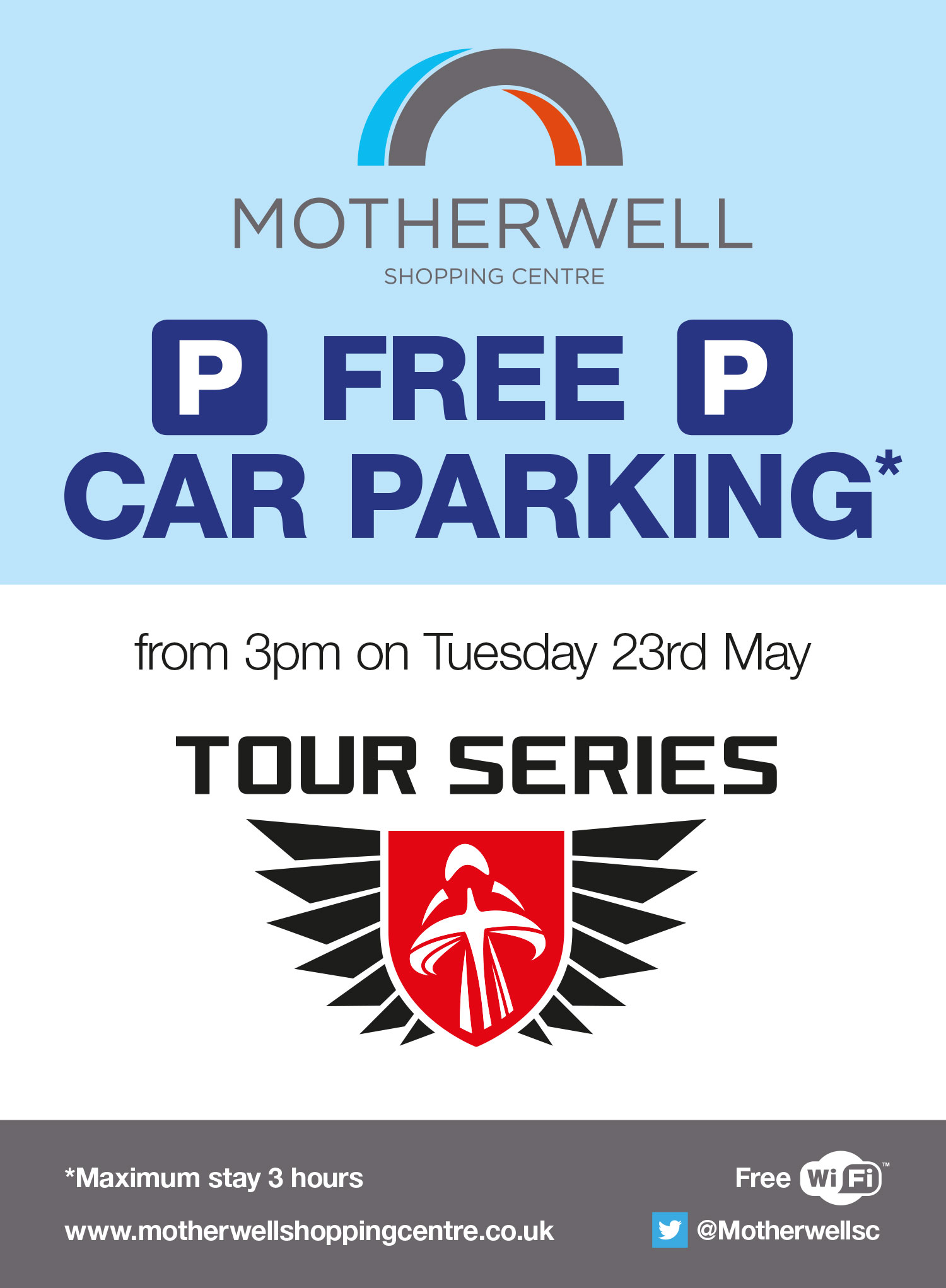 Tour Series at Motherwell Shopping Centre