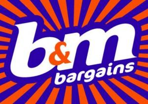 B & M logo